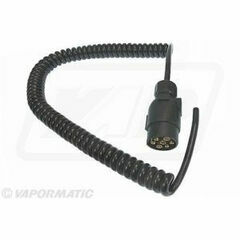 Lighting Cable Coiled - 7 Pin