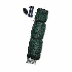 50m x 110cm Hotline Electric Poultry Netting - Green