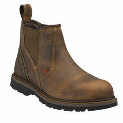 Buckler Buckflex B1555SM Brown Safety Dealer Boots