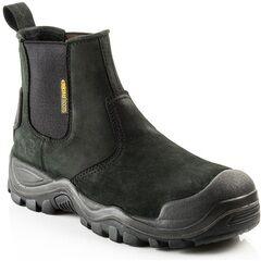 Buckler Buckshot BSH006BK Black Safety Dealer Boots