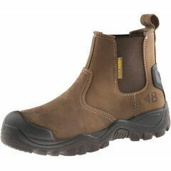 Buckler Buckshot BSH006BR Dark Brown Safety Dealer Boots