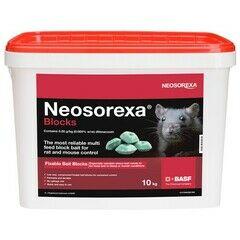Neosorexa Rat & Mouse Bait Blocks 2.5KG