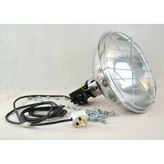 Turnock Premium 250w Heat Lamp With Dimmer Fitting