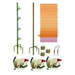 Hotline 400m Three Reel System TP400-G Electric Fence Kit