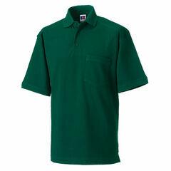 Russell Men's Heavy Duty Polo Shirt - Bottle Green