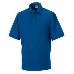 Russell Men's Heavy Duty Polo Shirt - Bright Royal Blue