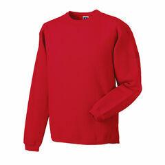 Russell Crew Neck Set In Sweatshirt - Classic Red