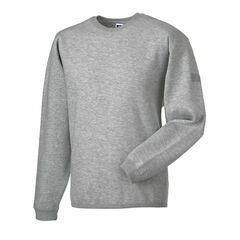 Russell Crew Neck Set In Sweatshirt - Light Oxford