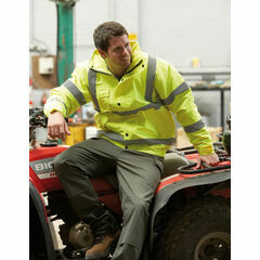 Dickies High Visibility Bomber Jacket - Yellow