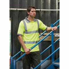 Dickies Hi Vis Safety Polo Shirt - Yellow