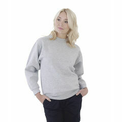 Ultimate Clothing Collection 50/50 Heavyweight Set-In Sweatshirt - Heather Grey