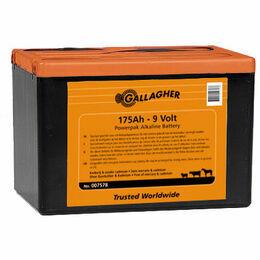 Gallagher Powerpack 9V Energiser Battery - 175Ah