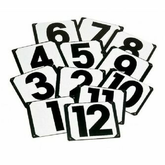 Letter/Number Markers & Signs