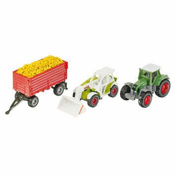 Siku Grain Transporter Agriculture Gift Set 1:87