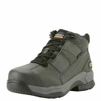 Ariat Contender SB Suede Safety Work Boot Charcoal