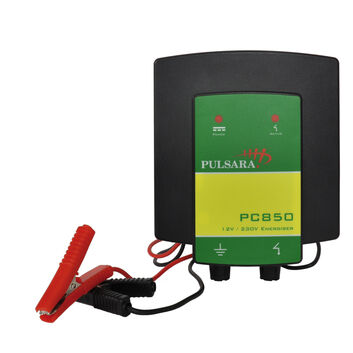 Pulsara PC850 12V/220V Hybrid Electric Fence Energiser