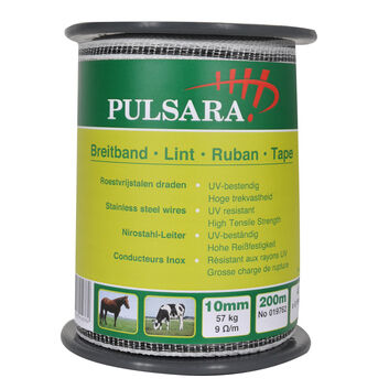 Pulsara Electric Fence Tape - 200m