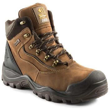 Buckler Buckshot BSH002BR S3 Brown Safety Lace Boots