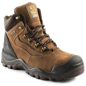 Buckler Buckshot BSH002BR S3 Brown Safety Lace Boots