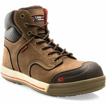 Buckler EAZY BR Largo Bay Brown Safety Lace Sneaker Boots