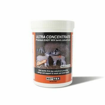 Nettex Ultra Concentrate Lamb Colostrum 2.5kg (100 Lamb)