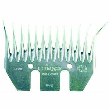 Heiniger B-Evil Right Handed Comb 94.5mm