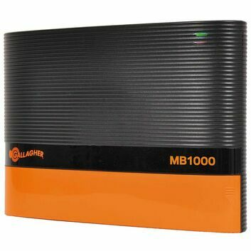 Gallagher MB1000 Multi Power Fence Energiser (12V - 10 J)