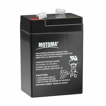 Gallagher S10, S16, S20 6V 4Ah Energiser Battery