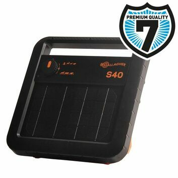 Gallagher S40 Solar Energiser with Battery (6V - 0,4 J)