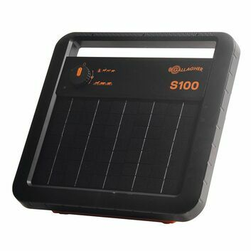 Gallagher S100 Solar Energiser with Battery (12V - 1,0 J)