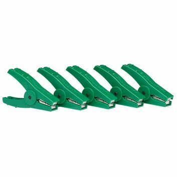 5 x Gallagher Crocodile Clip Green