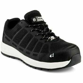 Buckler Kez Largo Bay S1 Safety Lace Trainer Black