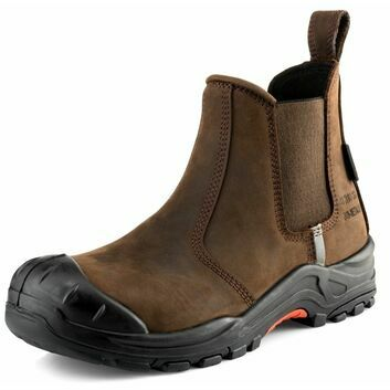 Buckler NKZ101BR S3 Dark Brown Safety Dealer Boot