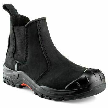 Buckler NKZ101BK S3 Black Safety Dealer Boot