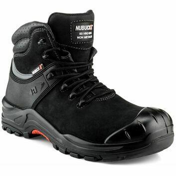 Buckler Nubuckz NKZ102BK S3 Black Safety Lace Boot