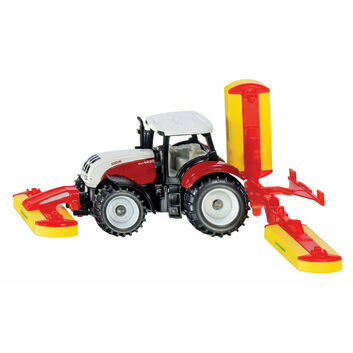 Siku Steyr Tractor with Pottinger mower combination 1:87