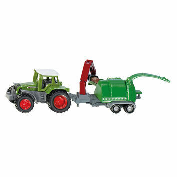 Siku Fendt with wood chipper 1:87