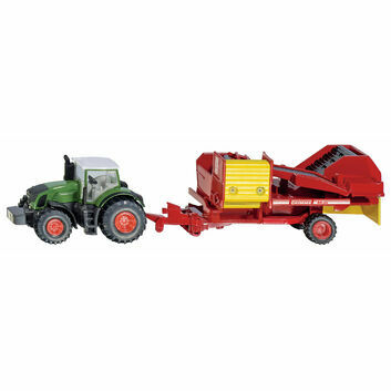 Siku Fendt Tractor with Potato Harvester 1:87