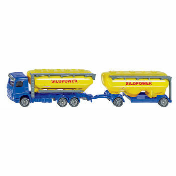 Siku Truck with feedstuff silo 1:87
