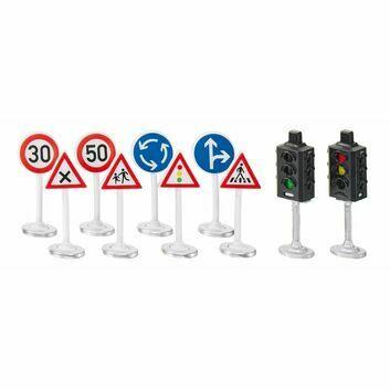 Siku Traffic Lights and Road Signs