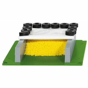 Siku Silage clamp with cover and tyres