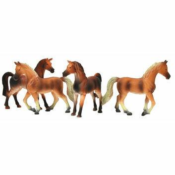 Kidsglobe Horses (4x) 1:32