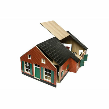 Kidsglobe Stable with dwelling house 1:32