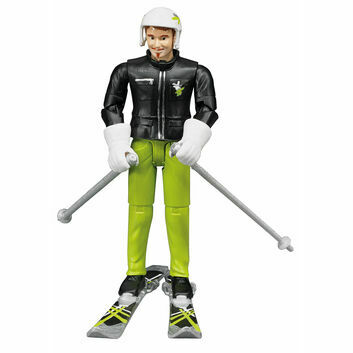 Bruder Skier with accessories 1:16