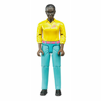 Bruder Woman in Turquoise Jeans 1:16