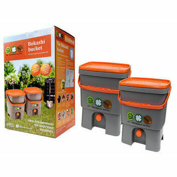 Bokashi Bin Kitchen Waste Bucket Starter Kit