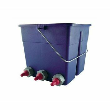 Lamb Feeder Bucket with 6 Teats