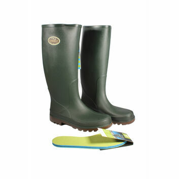 Bekina Litefield Non-Safety Leisure Wellington Boots Green