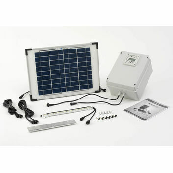 SolarMate SolarHub Chicken House Solar Light System