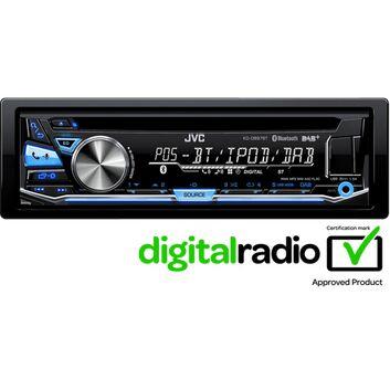 JVC KD-DB97BTE Car Stereo